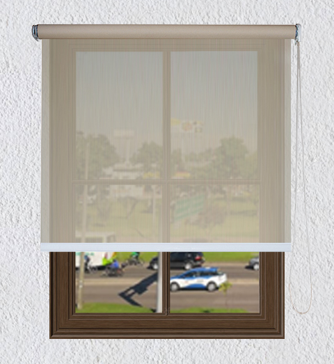 Persiana Enrollable Solar Screen 5% Beige